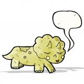 Dinossauro de desenhos animados — Vetorial Stock