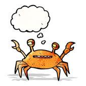 Cartoon krab — Stockvector