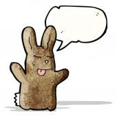 Cartoon rabbit — Cтоковый вектор