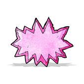 Comic-buch-explosion-symbol — Stockvektor