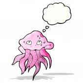 Medusas dibujos animados — Vector de stock