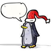 мультфильм пингвин — Cтоковый вектор