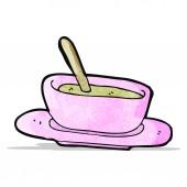 Cartoon soep — Stockvector