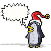 Cartoon penguin — Cтоковый вектор