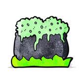 Borrelende ketel cartoon — Stockvector