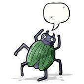 Cartoon giant beetle — Stock Vector