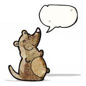 крыса жира мультфильм — Cтоковый вектор