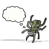 Escarabajo de dibujos animados — Vector de stock
