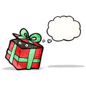 Cartoon-geschenk-box — Stockvektor
