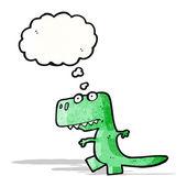 Cartoon dinosaur — 图库矢量图片