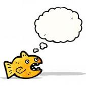 Cartone animato goldfish — Vettoriale Stock