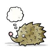 Cartoon hedgehog — Cтоковый вектор