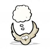 Cartoon uil — Stockvector