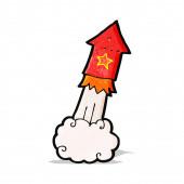 卡通火箭 — 图库矢量图片