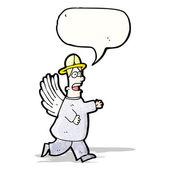 ángel de la historieta — Vector de stock