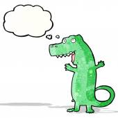 Dinosaurio de la historieta — Vector de stock