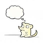 少しマウスを漫画します。 — ストックベクタ