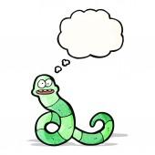Tecknad orm — Stockvektor