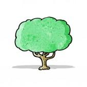 árbol de dibujos animados — Vector de stock