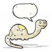 Cartoon dinosaur — Cтоковый вектор