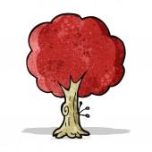 Kreslený strom podzim — Stock vektor