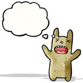 卡通死兔子 — 图库矢量图片