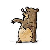 Kreskówka niedźwiedź — Wektor stockowy