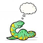 Kreslený tlustý had — Stock vektor