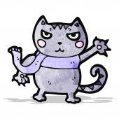 Kot kreskówka — Wektor stockowy