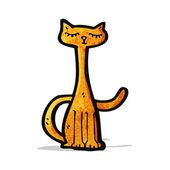 джинджер мультфильм cat — Cтоковый вектор