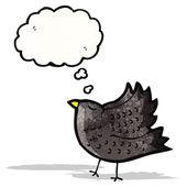 卡通乌鸦 — 图库矢量图片