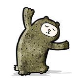 мультфильм медведь — Cтоковый вектор