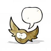 卡通猫头鹰 — 图库矢量图片