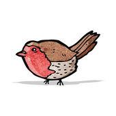 Cartoon-robin — Stockvektor