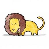 мультфильм лев — Cтоковый вектор