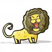 动漫咆哮的狮子 — 图库矢量图片