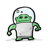 Cartoon-alien — Stockvektor