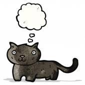 黑猫卡通 — 图库矢量图片