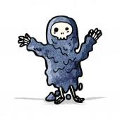Spooky ghoul cartoon character — Stock Vector