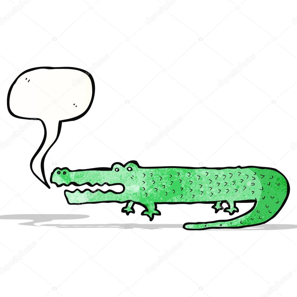 卡通鳄鱼 — 图库矢量图像08 lineartestpilot