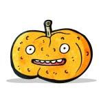 Cartoon pumpkin — Stock Vector #56297925