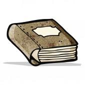 Vecchio libro fumetto — Vettoriale Stock