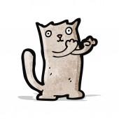 Cartoon kat — Stockvector