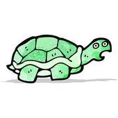 Tartaruga de desenho animado — Vetor de Stock