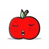 卡通苹果 — 图库矢量图片