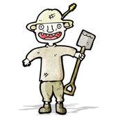 卡通农民 — 图库矢量图片