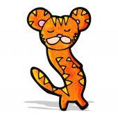 Desenho de tigre — Vetor de Stock