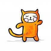 Cartoon cat costume — Stock Vector