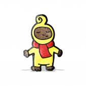 卡通婴儿 — 图库矢量图片
