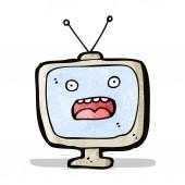 Television cartoon character — Stock Vector